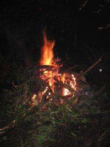 Fire at Amynedd